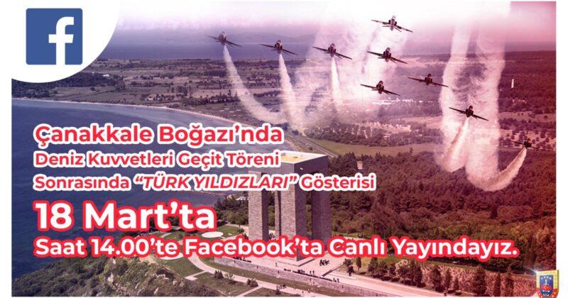 Türk Yıldızları Gösterisi Canlı Yayınlanacak