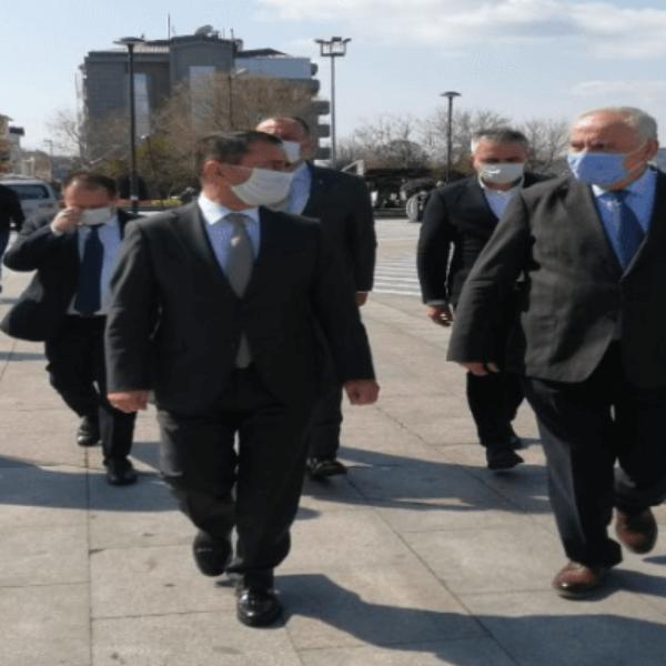 Vali Aktaş ve Başkan Gökhan Esnafı Denetledi