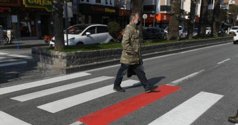 Yaya Geçitlerinde Kırmızı Çizgi Dönemi