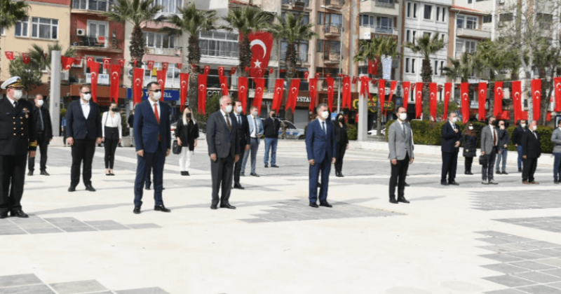 23 Nisan Ulusal Egemenlik ve Çocuk Bayramı Resmi Törenle Kutlandı