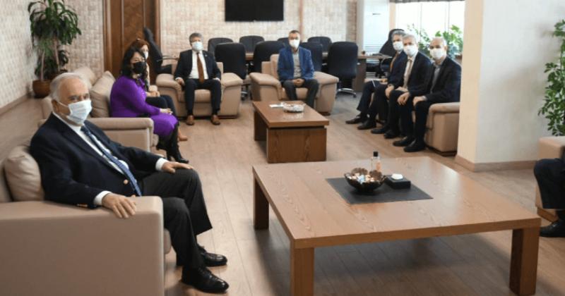 Başkan Gökhan'dan ÇOMÜ Rektörü Prof. Dr. Murat ve Müzelere Ziyaret