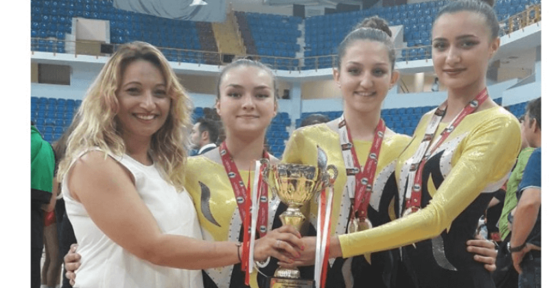 Belediyespor Jimnastik Antrenörü Ay'a Milli Davet