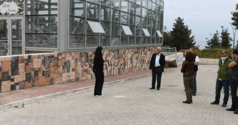Başkan Gökhan Atık Su Arıtma Tesisini Ziyaret Etti