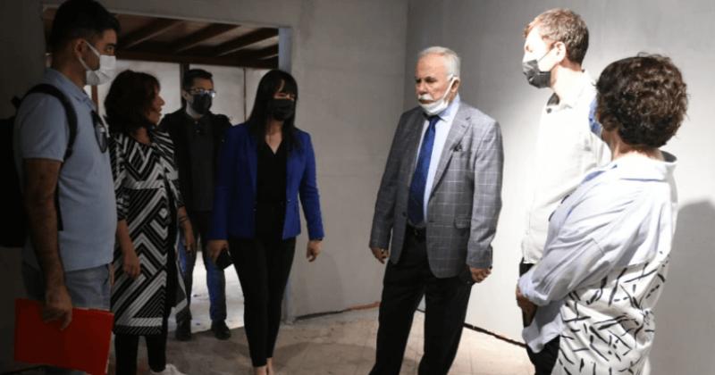 Başkan Gökhan Karina Deniz Kültürü Merkezi'nde İncelemelerde Bulundu