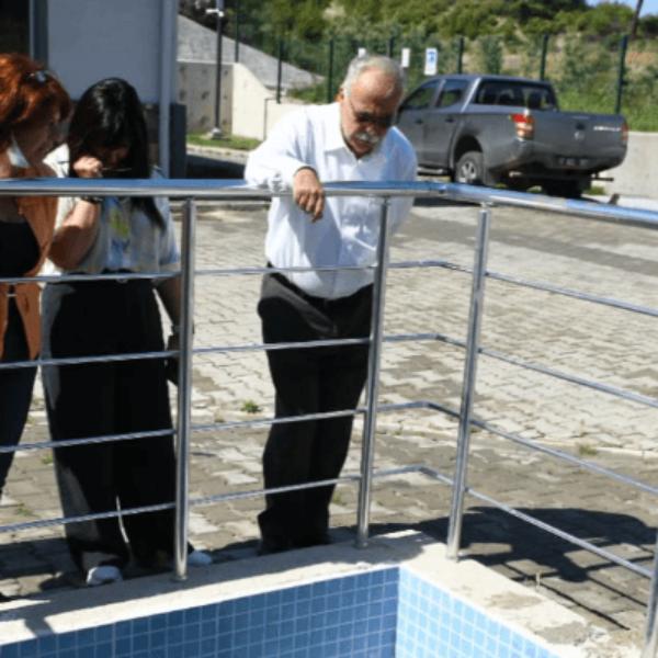 Başkan Gökhan Atık Su Arıtma Tesislerinde İncelemede Bulundu