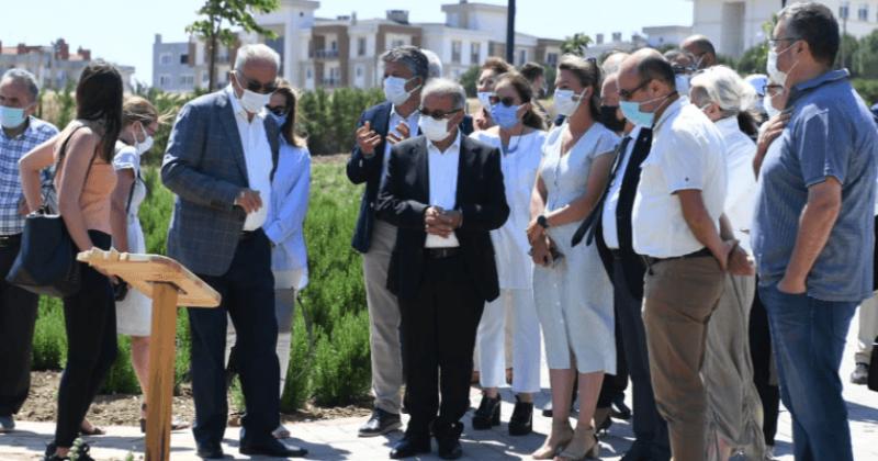Kente Mis Kokular Saçan Aromatik ve Tıbbi Bitkiler Parkı Açıldı