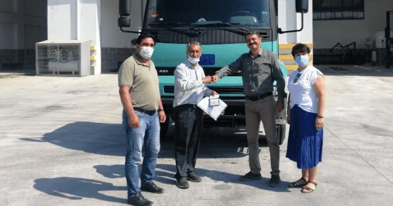 Ardahan Belediyesine Bedelsiz Devredilen Kamyon Teslim Edildi