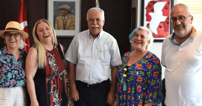 Başkan Gökhan, Bakır Ailesini Ağırladı