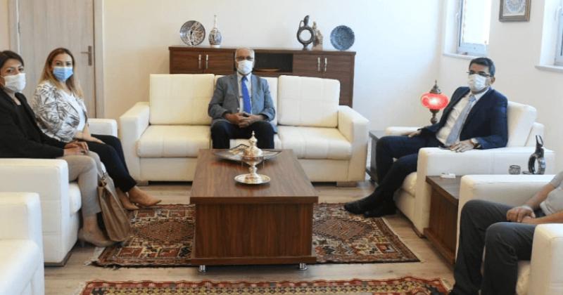 Başkan Gökhan'dan Cumhuriyet Başsavcısı Şahin'e Ziyaret
