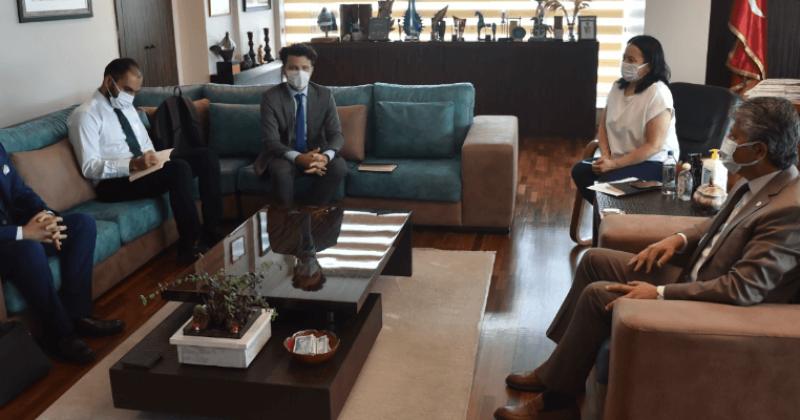 Başkan Vekili Mutluay Birleşmiş Milletler Temsilcilerini Ağırladı