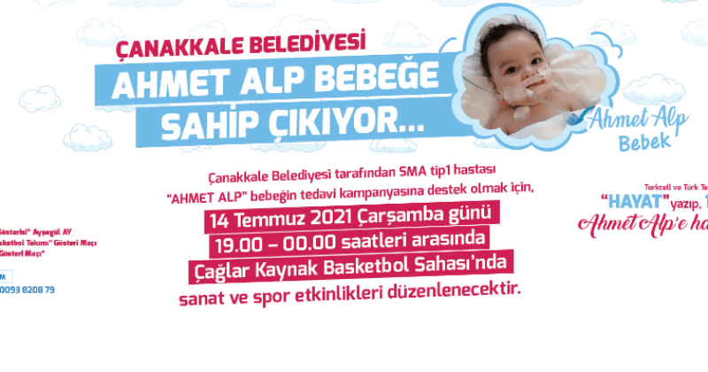 Çanakkale Belediyesi Ahmet Alp Bebeğe Sahip Çıkıyor