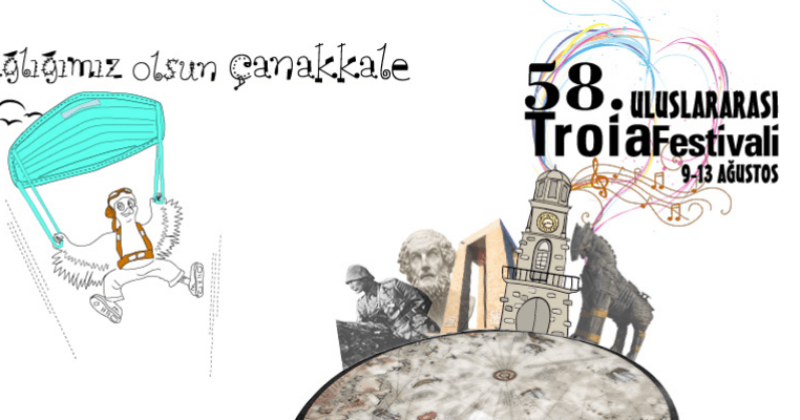 58. Uluslararası Troia Festivali Başlıyor