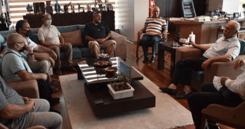 Başkan Gökhan Erzurumlular Derneği Yönetimi ile Bir Araya Geldi