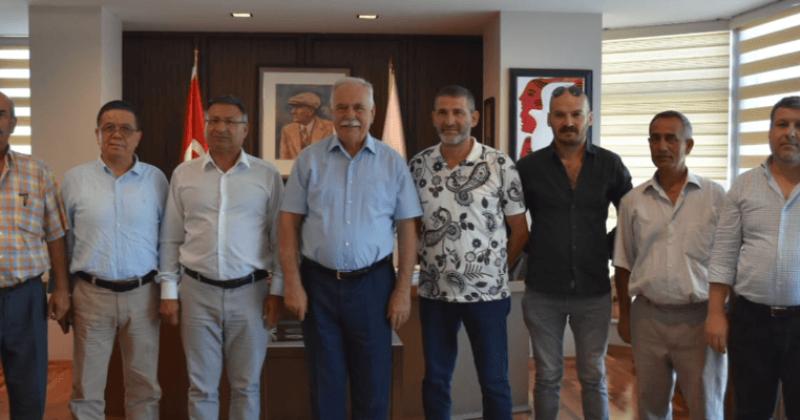 Cumhuriyet Halk Partisi'li Vekil Purçu'dan Başkan Gökhan'a Ziyaret