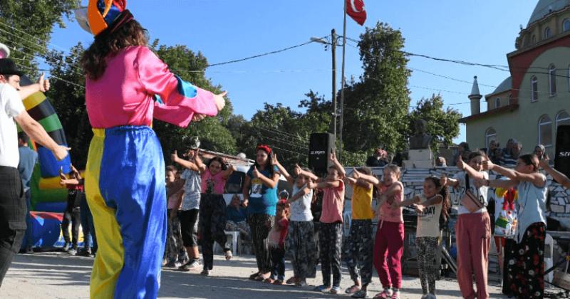 Serhat Köyü Çocuklarının Şenlik Keyfi…