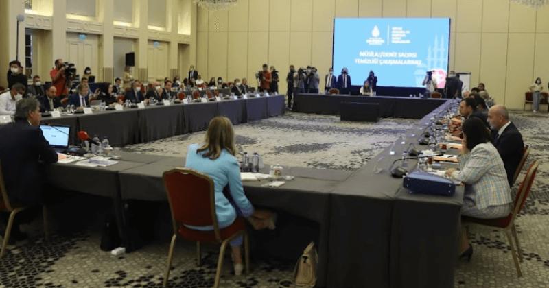 TBMM Müsilaj Sorununu Araştırma Komisyonunun Toplantısı İstanbul'da Gerçekleşti