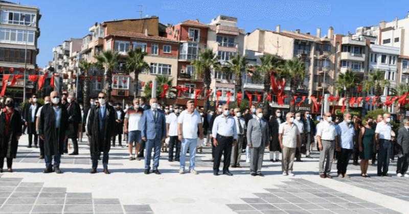 Atatürk'ün Çanakkale'ye Gelişi Törenle Kutlandı
