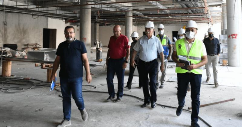 Başkan Gökhan, Yeşil Yerel Yönetim ve Kültür Merkezi'nde İncelemelerde Bulundu