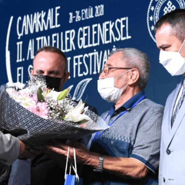 Çanakkale Altıneller Geleneksel El Sanatları Festivali Başladı