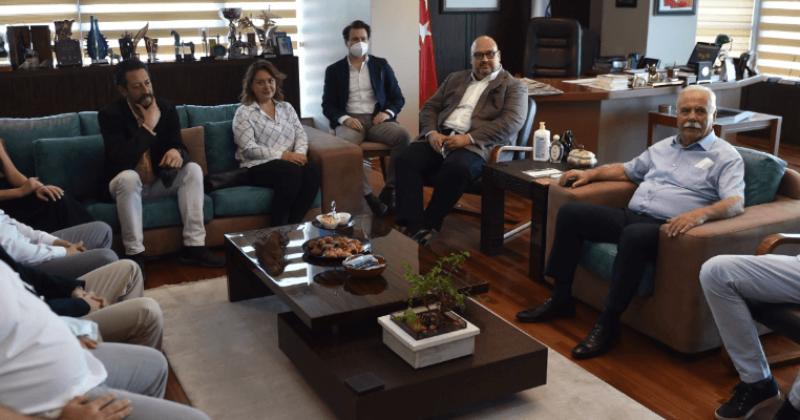 Çanakkale Sanayici ve İş İnsanları Derneği Yönetiminden Başkan Gökhan'a Ziyaret