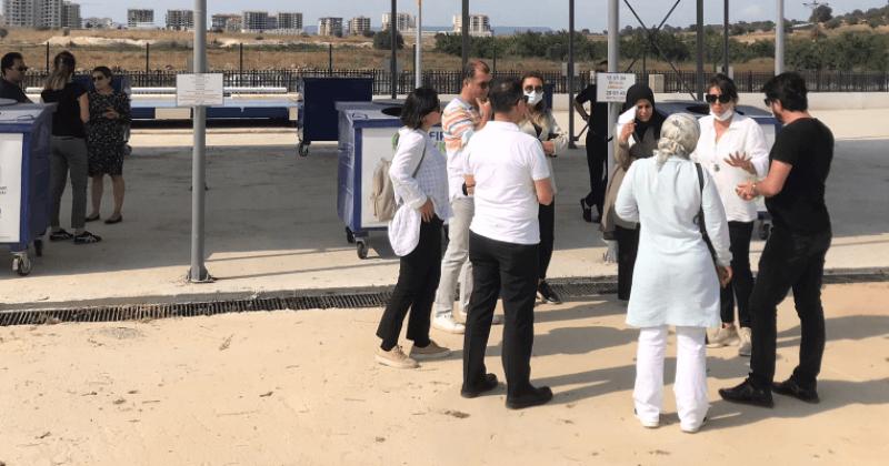 Çevre ve Şehircilik İl Müdürlüğü Atık Geri Getirme Merkezi'ni Ziyaret Etti