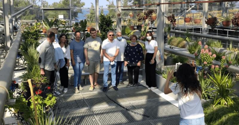 Gürcistan Heyeti Güzelyalı Dardanos Atık Su Arıtma Tesisini Gezdi