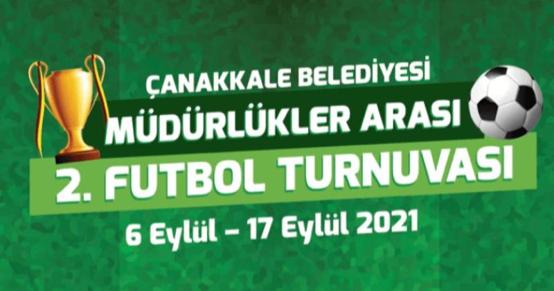 Müdürlükler Arası Futbol Turnuvası Dostluk Maçı İle Final Yapacak