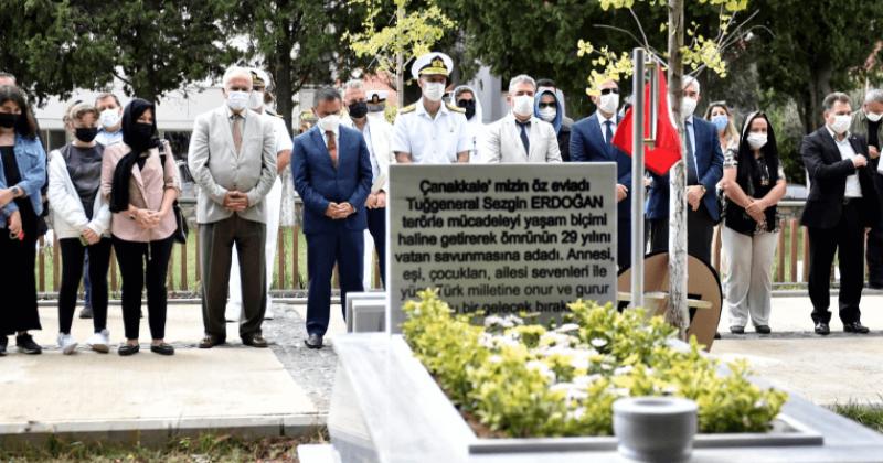 Şehit Tuğgeneral Erdoğan Anıldı