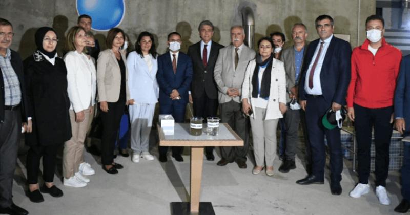 TBMM Müsilaj Komisyonu Güzelyalı Dardanos İleri Biyolojik Atık Su Arıtma Tesisini Gezdi
